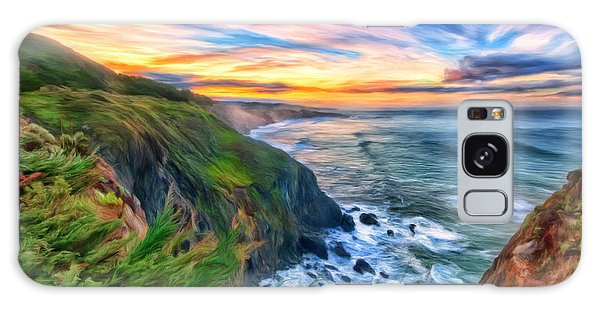 The Beauty Of Big Sur Galaxy Case by Michael Pickett