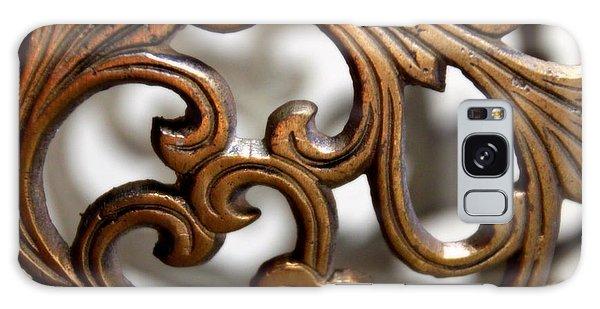 The Beauty Of Brass Scrolls 1 Galaxy Case