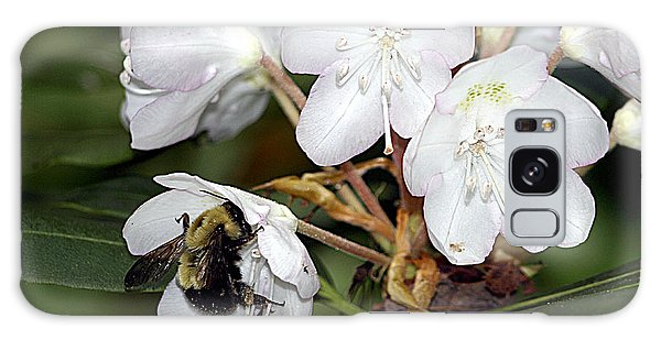 The Bee And The Rhododendron Galaxy Case