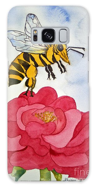 The Bee And The Rose Galaxy Case