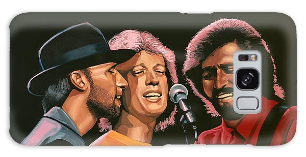 Rhythm And Blues Galaxy Case - The Bee Gees by Paul Meijering