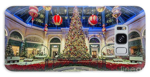 The Bellagio Christmas Tree Galaxy Case by Aloha Art