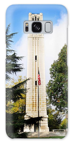 The Belltower At Nc State University Galaxy Case