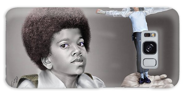 The Best Of Me - Handle With Care - Michael Jacksons Galaxy Case by Reggie Duffie