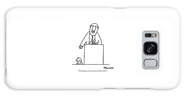 The Bidding Will Start At Eleven Million Dollars Galaxy Case by Charles Barsotti