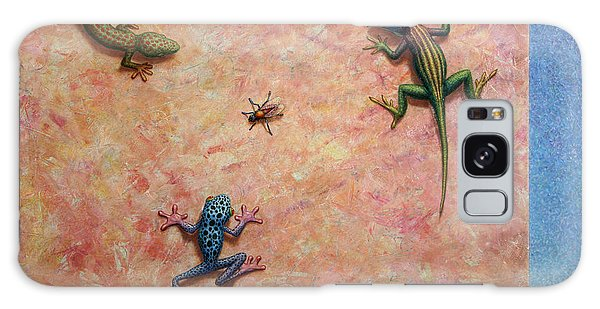 Frogs Galaxy Case - The Big Fly by James W Johnson