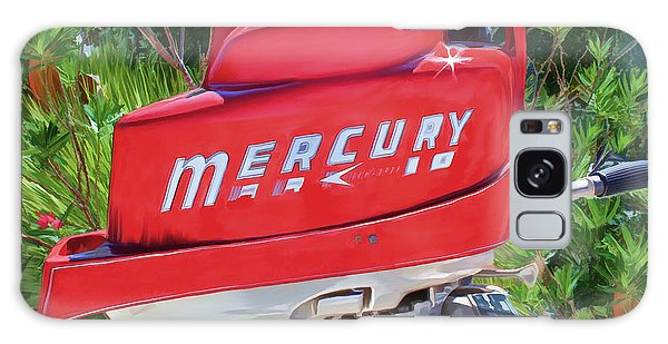 The Big Red Mercury Engine Galaxy Case