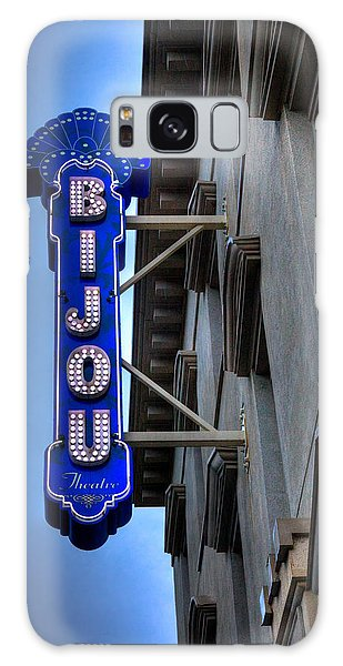 The Bijou Theatre - Knoxville Tennessee Galaxy Case by David Patterson