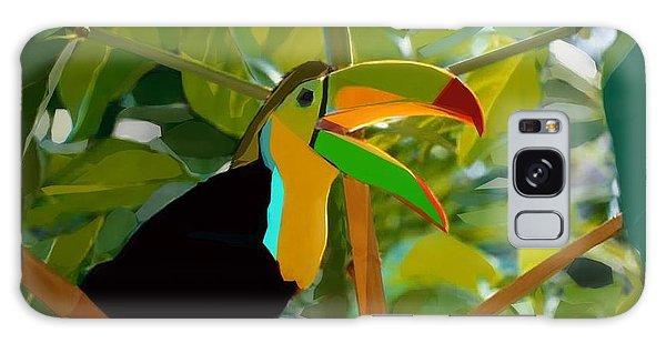 Song Birds Galaxy Case - The Bird  by Asad Nadeem