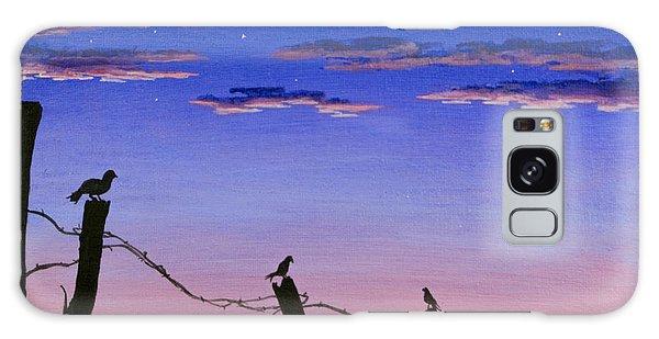 The Birds - Morning Has Broken Galaxy Case