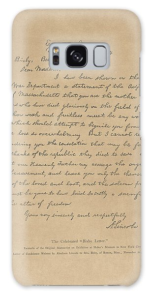 The Bixby Letter Galaxy Case