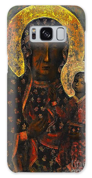 Beautiful Galaxy Case - The Black Madonna by Andrzej Szczerski