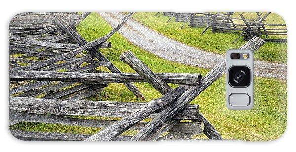 The Bloody Lane At Antietam Galaxy Case