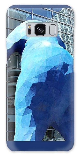 The Blue Bear Galaxy Case by Dany Lison