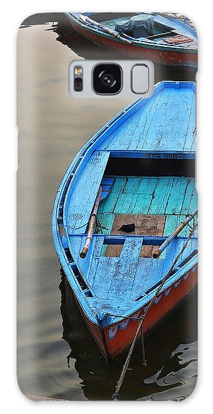 The Blue Boat Galaxy Case