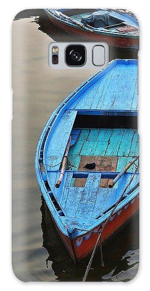 The Blue Boat Galaxy Case