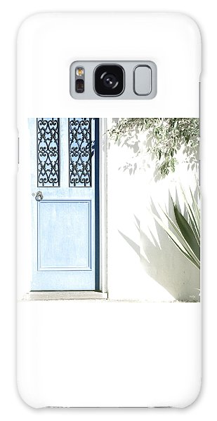 The Blue Door Galaxy Case