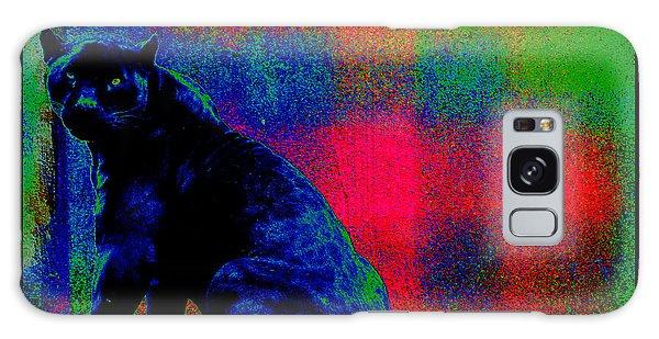 The Blue Jaguar Galaxy Case by Susanne Still