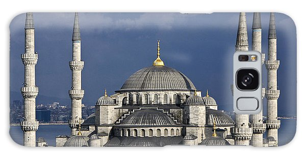 The Blue Mosque In Istanbul Galaxy Case