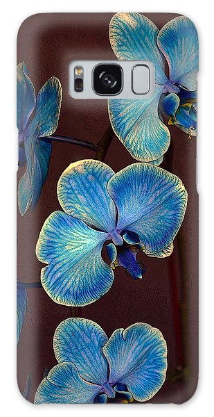 The Blue Orchid Galaxy Case