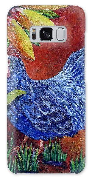 The Blue Rooster Galaxy Case