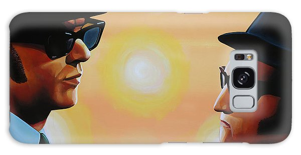 Rhythm And Blues Galaxy Case - The Blues Brothers by Paul Meijering
