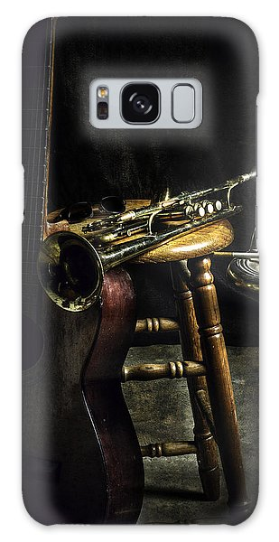 The Blues Player Galaxy Case