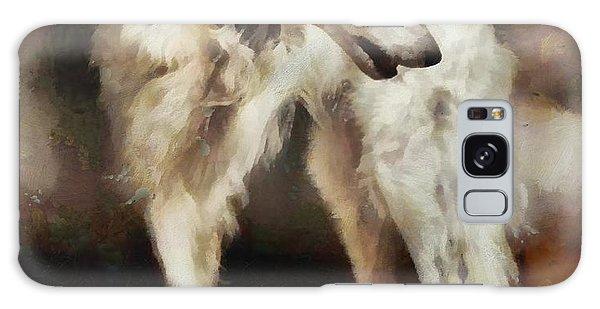 Sighthound Galaxy Case - The Borzoi Uturn by Janice MacLellan