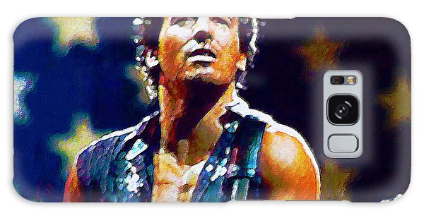Bruce Springsteen Galaxy S8 Case - The Boss by John Travisano