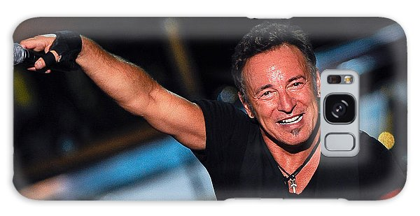 Bruce Springsteen Galaxy S8 Case - The Boss by Rafa Rivas