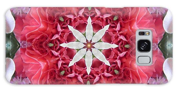 The Bouquet Mandala Galaxy Case