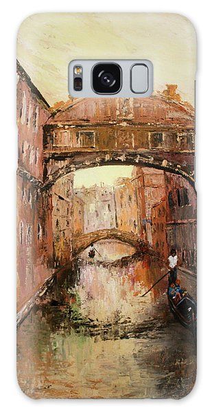 The Bridge Of Sighs Venice Italy Galaxy Case by Jean Walker