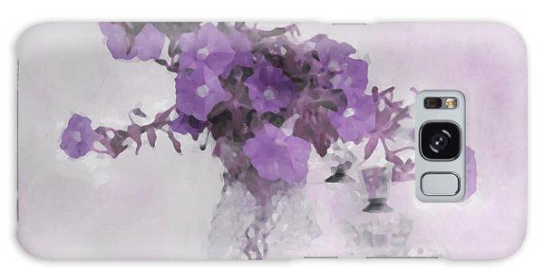 The Broken Branch - Digital Watercolor Galaxy Case by Sandra Foster