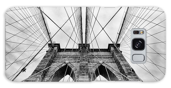White Galaxy Case - The Brooklyn Bridge by John Farnan