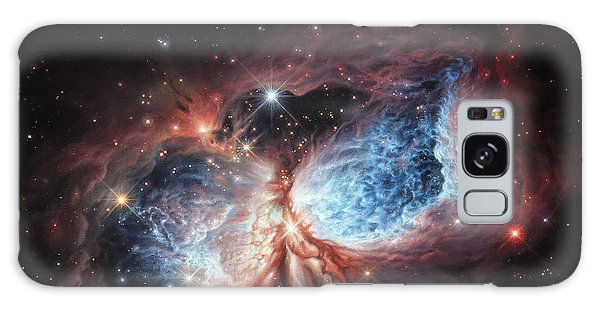 The Brush Strokes Of Star Birth Galaxy Case
