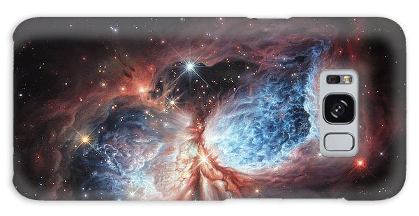 The Brush Strokes Of Star Birth Galaxy Case