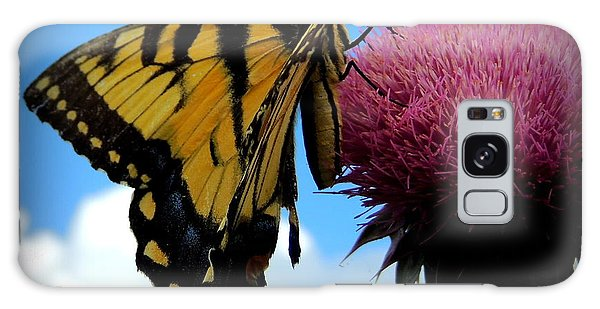 The Butterfly And The Milkweed Galaxy Case