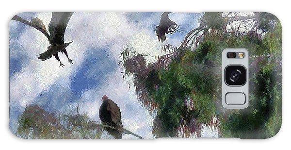 The Buzzard Tree Galaxy Case by Rhonda Strickland