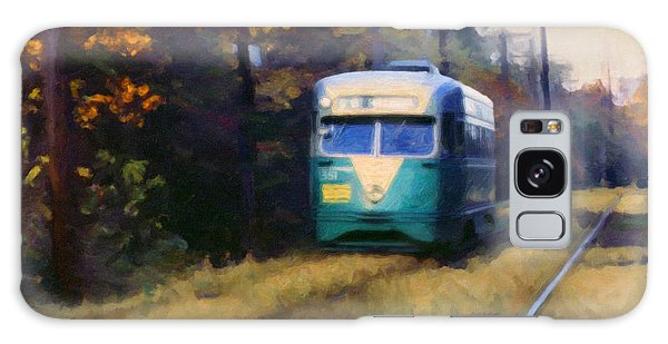 The Cabin John Trolley Galaxy Case