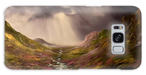 The Cairngorms In Scotland Galaxy Case by Jean Walker