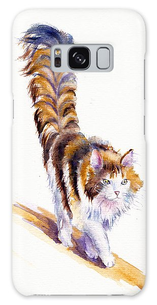 Calico Cat Galaxy Case - The Calico Cat That Walked By Himself by Debra Hall