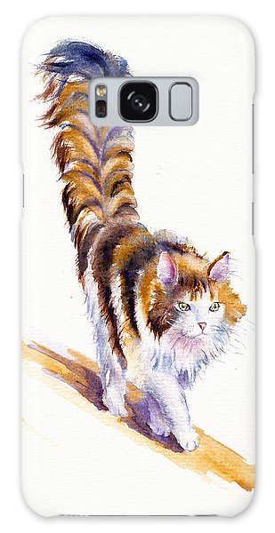 The Calico Cat That Walked By Himself Galaxy Case