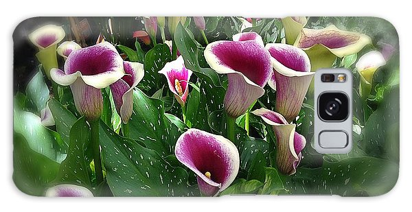 The Calla Lilies Are In Bloom Again Galaxy Case