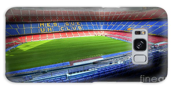 The Camp Nou Stadium In Barcelona Galaxy Case