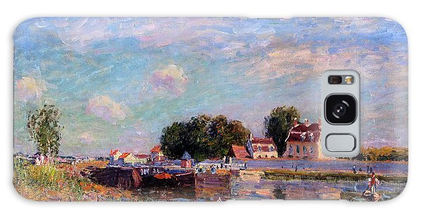 The Canal At Saint-mammes Galaxy Case by Alfred Sisley