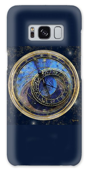 The Carousel Of Time Galaxy Case by RC deWinter