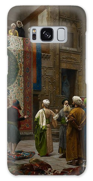Tapestry Galaxy Case - The Carpet Merchant by Jean Leon Gerome