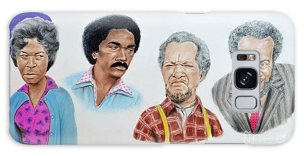 The Cast Of Sanford And Son  Galaxy Case