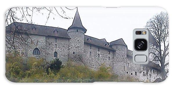 The Castle In Autumn Galaxy Case by Felicia Tica