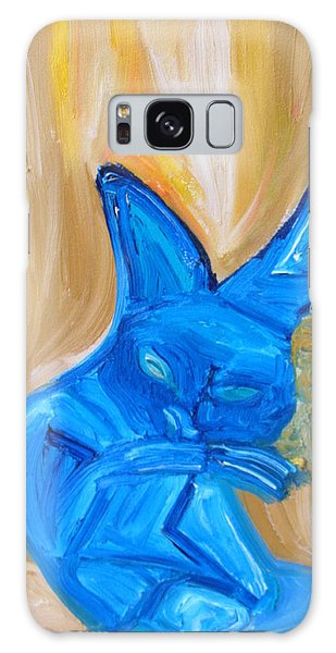 The Cat Camelion  Galaxy Case